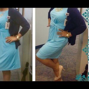 Limited Shift dress. Light Blue